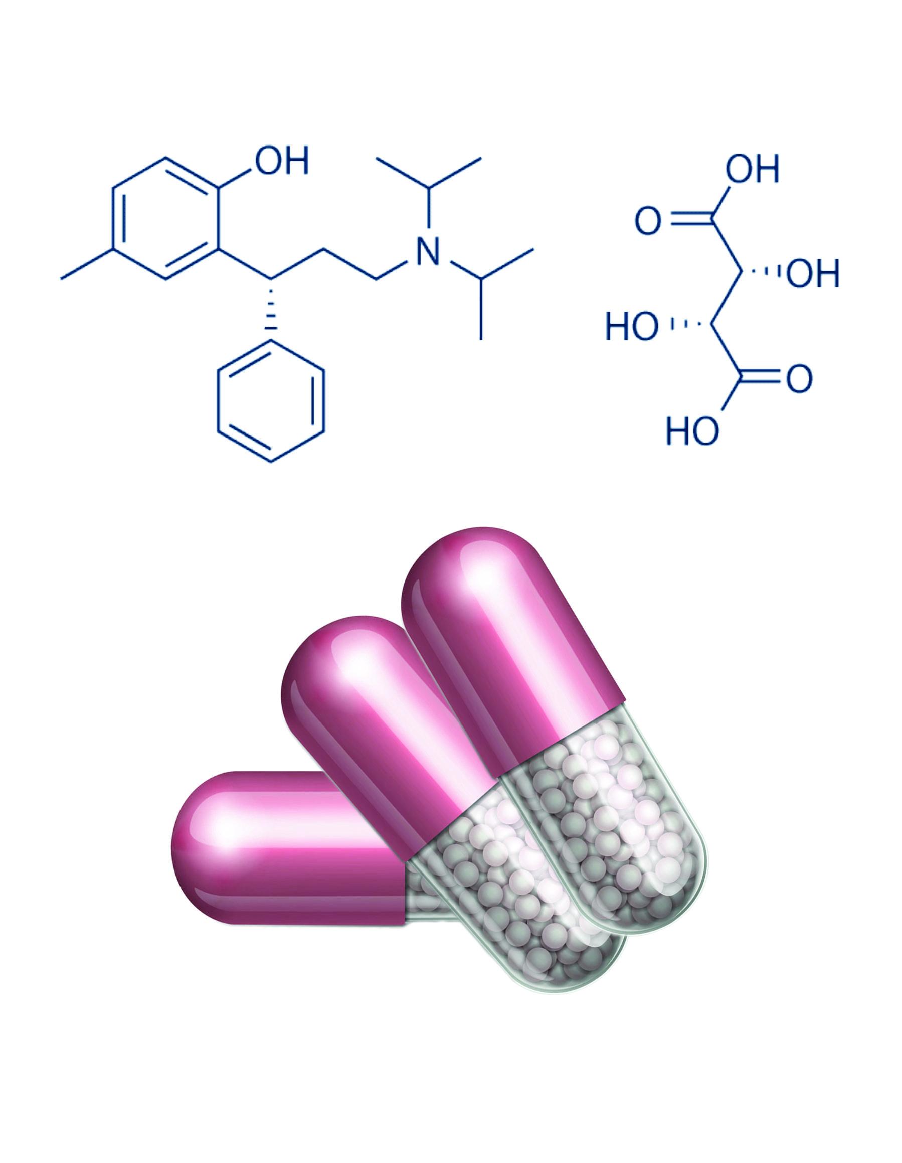 Tolterodine tartrate ER Pellets